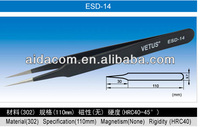 Stainless steel ESD-14 Tweezers