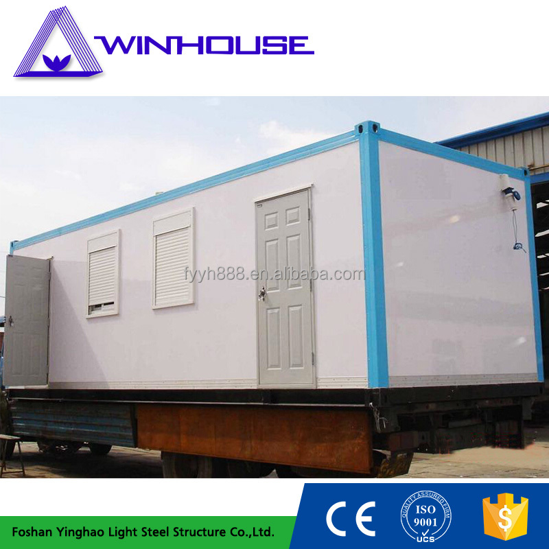 20 feet modern movable cheap prefabricated container living container house