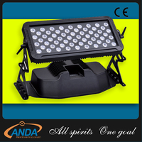 4in1 RGBW high power 60pcs flood light LED wall washer city color outdoor