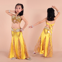 2016 High quality cheap belly dance costumes for girls sexy kids belly dance costumes purple children belly dancing suit