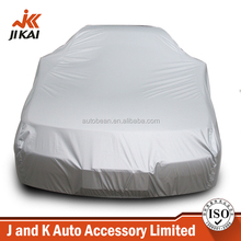 Insulated car cover silver coating polyester sun protection fireproof car cover