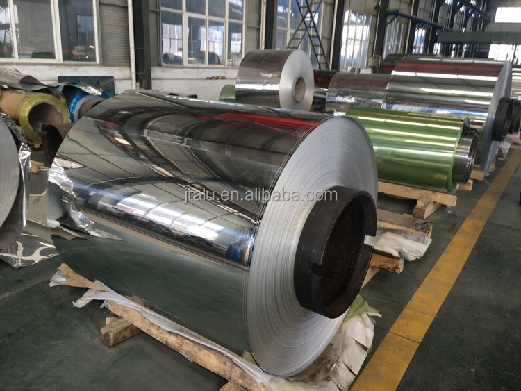 1060 3003 H18 H16 high reflective rate mirror polished aluminum coil