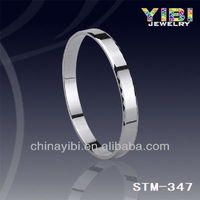 Tungsten Blood Pressure Magnetic Bracelet Men With Faceted Silver Color Grace Bangle