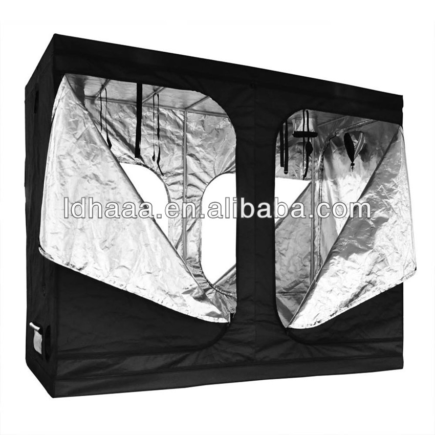 Hydroponics Grow Box Siliver Mylar 600D Grow Tent