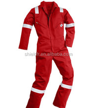 modacrylic Flame proof wholesale fire retardant clothing for oil industry