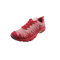 2017 Newest Shoes Factory Manufacturer TPR outsole Women Sport shoes Flat Made in China