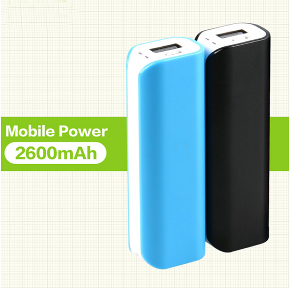 wholesale 2600 mah external battery charger oem/odm power bank