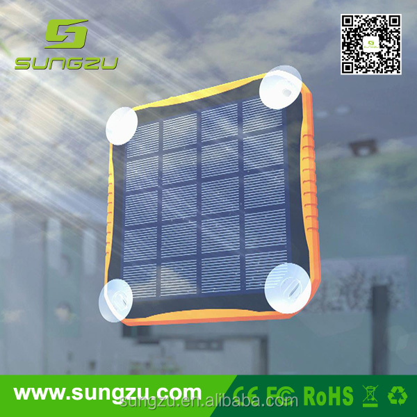 New Window Emergency Solar Battery Charger for iPhone iPod MP3 MP4 Mobile Phones