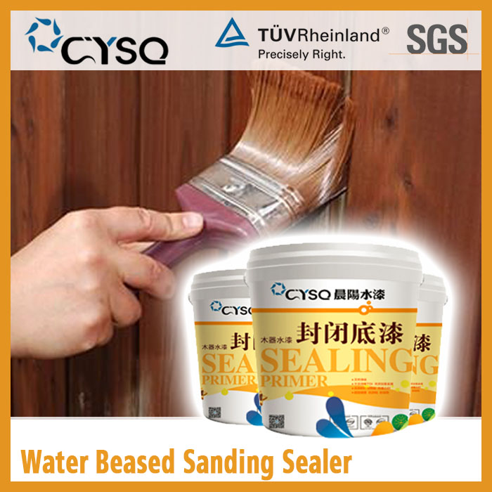 CYSQ Water Based Wood closeout paint