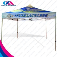 advertise quadrangle tent in outdoor event