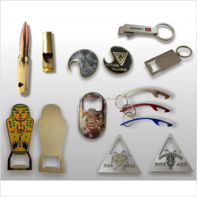 Wholesale Cheap bottle opener custom printed keyrings