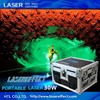 30w green portable laser light for traveling laser show and stage performance tour