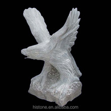 granite eagle sculpture