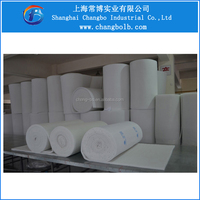 paint booth air intake filters/polyester ceiling filter material
