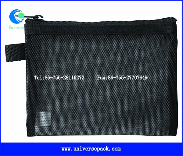 Eco special design cosmetic bags with zipper