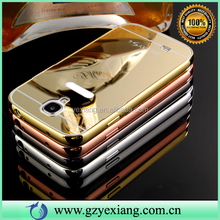 Ultra Thin Metal Aluminum Bumper Frame Mirror Cell Phone Case For Samsung Galaxy S4