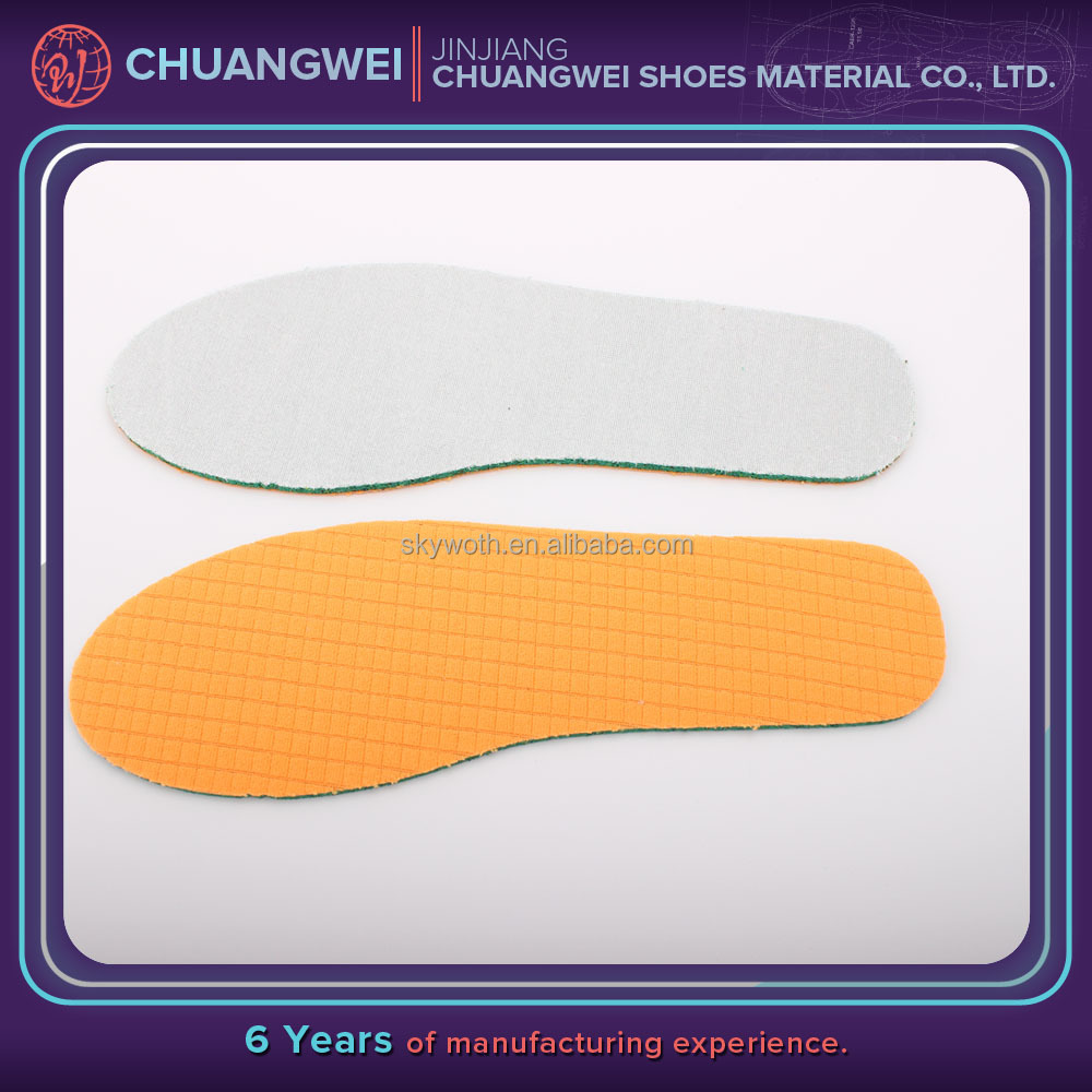 kevlar Hi-poly recycle foam insole paper board