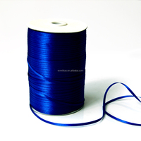 colorful satin ribbon in spool