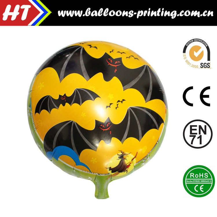 54X73CM Black Boot with Cat Halloween Product For Halloween Party Helium Foil Inflatable balloon