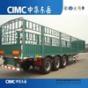 3 Axles 12 Wheels Fence Cargo Trailer for sale