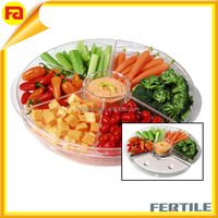 Rotating Thermal Ice Tray/Acrylic fruit Tray,High quality acrylic tray