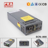 SCN-800W 5V 12V 15V 18V 24V 48V 800 watt industry switching power supply