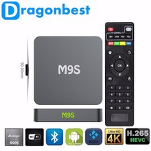 Dragonbest pendoo kodi media player M9S android 5.1 TV KUTUSU Quad core 1G 8G Bluetooth OTT TV BOX