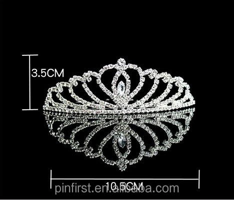 2015 Hot Selling Evening Party Rhinestone Tiaras