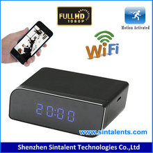 Desk Clock Camera surveillance equipment and tools All In One Camera & Video Recorders
