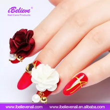 2017 Fashion Beauty Product Nail Art Accessories Removable Nail Magnet Cloth Flower