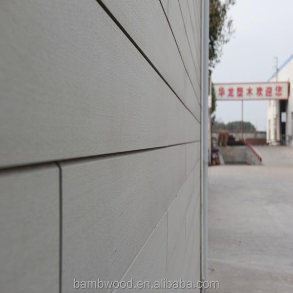 Natty No Painting Wood Plastic Composite Wall Siding