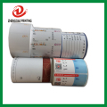 permanent adhesive custom roll label sitckers