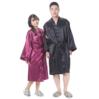 Chinese silk robe wholesale silk bathrobes