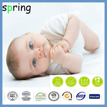 Bamboo terry quilted waterproof Crib Mattress Protector Pad cool sleeping bamboo mat