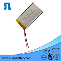 614174 2250mah energizer rechargeable battery,for medical equipment