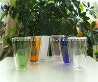 300ML Double Wall borosilicate glass Drinking Cup