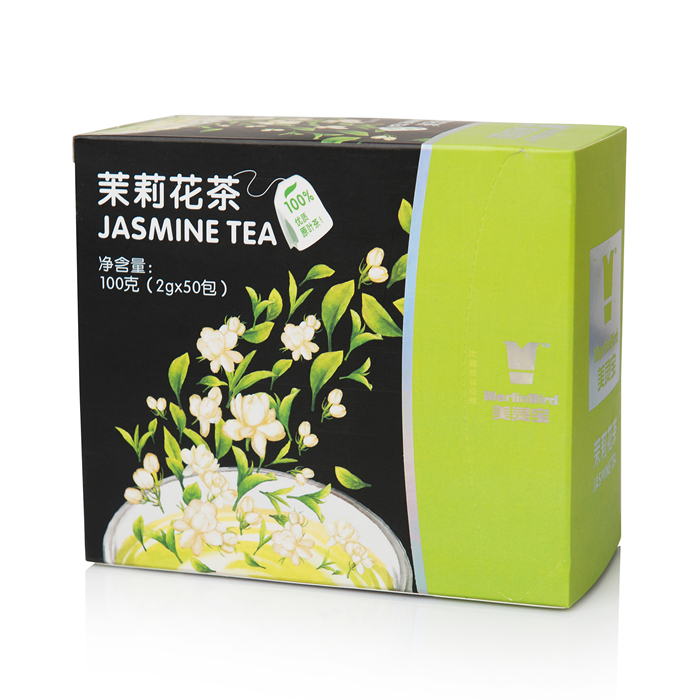 Double Room Teabags Green Tea 50 Pieces
