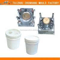 Custom Plastic Water Bucket Injection Moulding