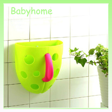 Hot selling in Korea practical plastic bath toy storage