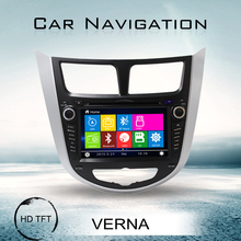 for hyundai verna car dvd with full function remote control rearview camera optional