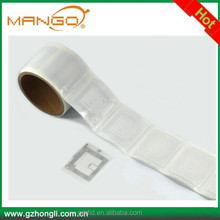 13.56mhz 14443a tags rfid label stickers for books for asset tracking