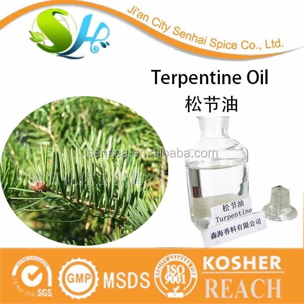 ISO certificated good price mineral turpentine oil in China