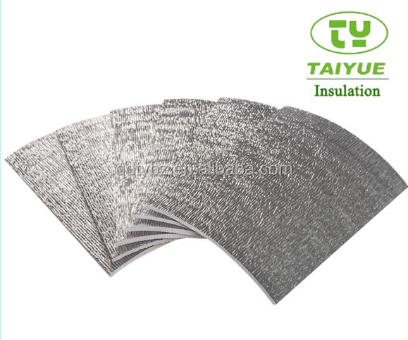 heat resistant insulation foil aluminium foil epe foam insulation radiant barrier house