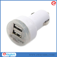Universal Dual USB Car Chargers for Apple iPhone 5 5S 5C 4 4S iPOD iPad air mini Touch Nano Samsung Galaxy S2 S3 S4 S5 i9100 i93