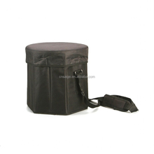 Folding Ice Bucket Collapsible Picnic Foldable Cooler Bag with Chair