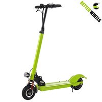 Better wheels electric mobility scooter folding kick scooter for wholesale