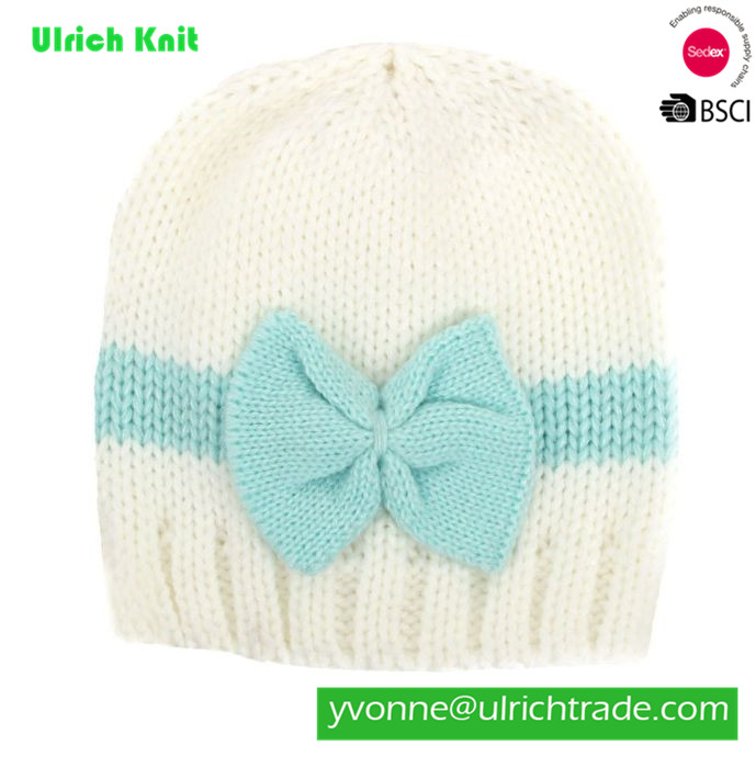 KH13 hot sale 100% acrylic knitted soft baby hat