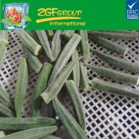 frozen fresh yellow okra