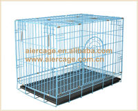 Pet product metal wire folding small dog kennels and cages