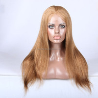 2105 new arrival hot sale blonde human hair full lace wigs